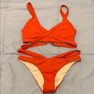 Cute strap bathing suit